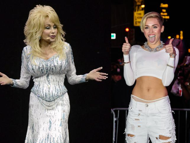 Dolly Parton broni Miley Cyrus