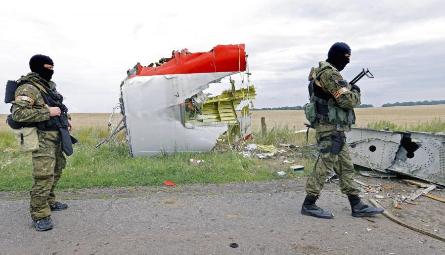 Miejsce katastrofy samolotu Malaysia Airlines lot MH17