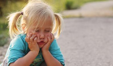 Smutne dziecko