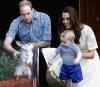 Książę George podczas wizyty w Australii