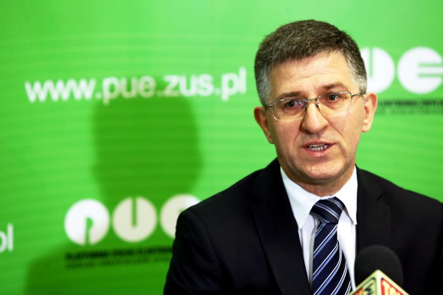 Prezes ZUS Zbigniew Derdziuk