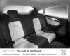 Jak zapewniają konstruktorzy A5 Sportback zapewni wysoki komfort podróżowania na wszystkich miejscach oraz wygodne wsiadanie i wysiadanie przez każde drzwi. Mimo mniejszej wysokości nadwozia, niż w przypadku limuzyny A4, i opadającemu dachowi pasażerowie w A5 Sportback dostaną porównywalną przestrzeń na nogi i nad głowami