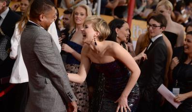 Jennifer Lawrence i Cuba Gooding, Jr.