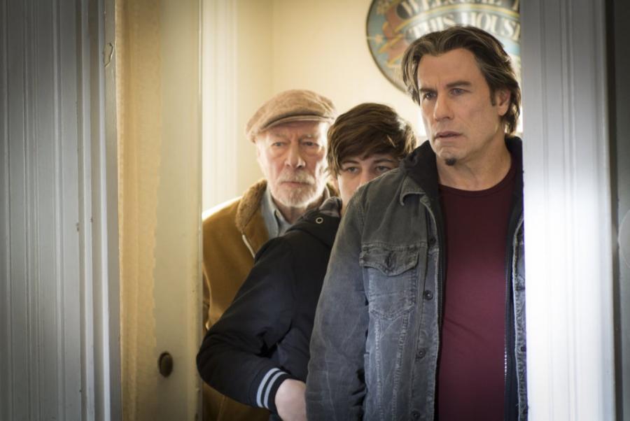 John Travolta, Christopher Plummer i Tye Sheridan w filmie \