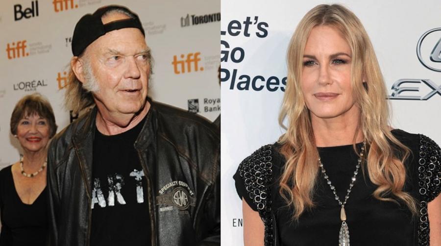 Neil Young spotyka się z Daryl Hannah