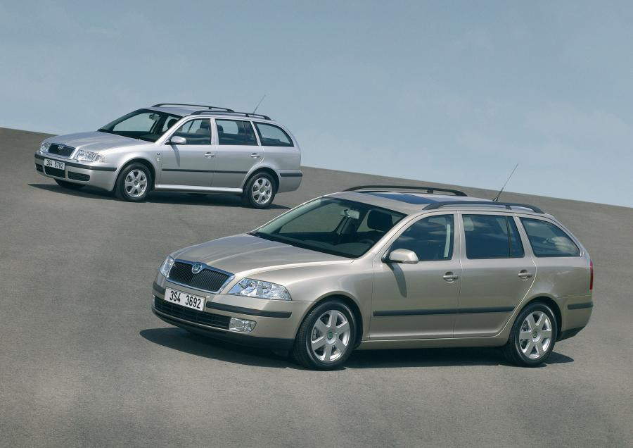 Skoda octavia - 7. miejsce na rynku aut używanych