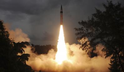 Test rakiety zdolnej do przenoszenia głowic atomowych