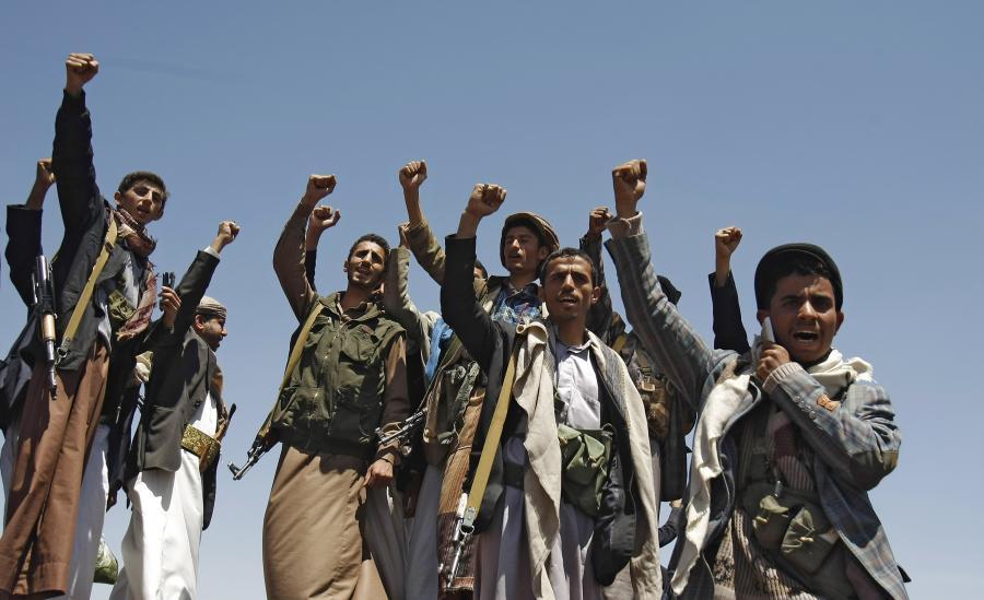 Rebelianci ruchu Huti
