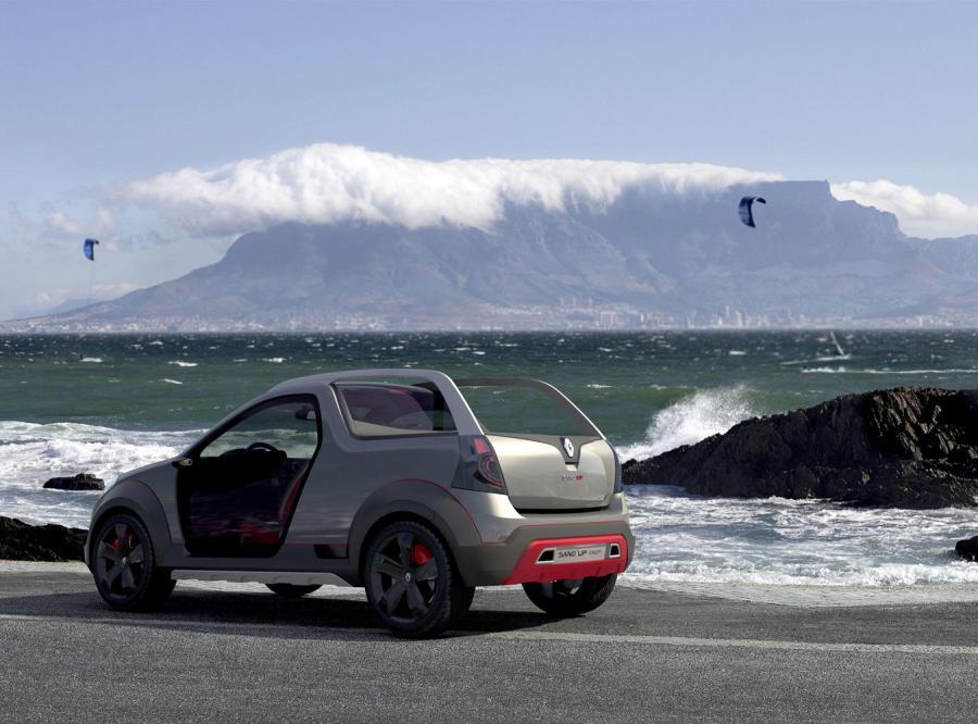 Dacia jedzie na plażę
