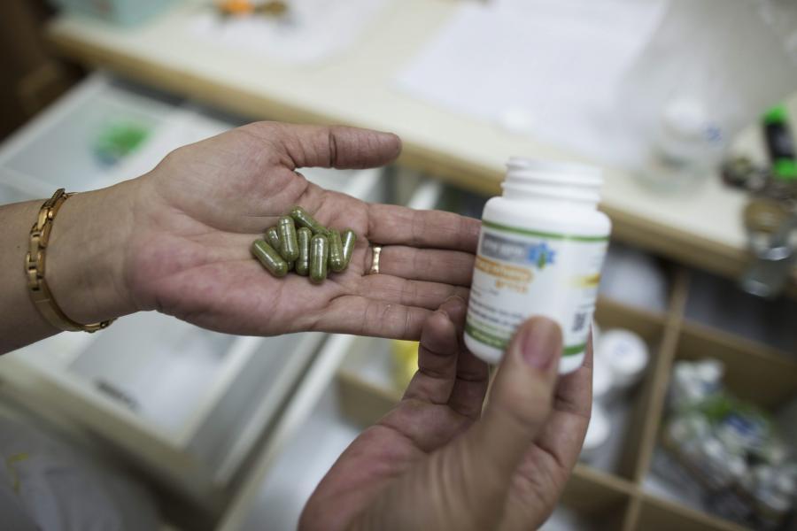 Pacjenci mogą nie tylko palić liście marihuany.