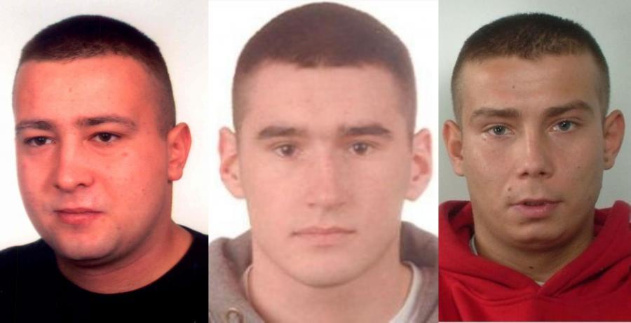 Filip Grzegorczyk, Marek Dobrowolski i Tomasz Lamberski