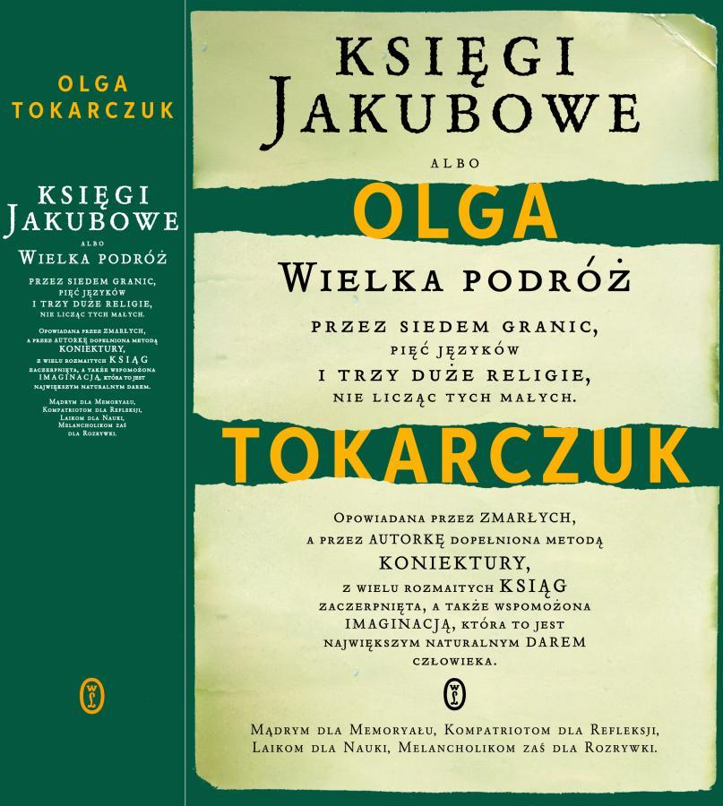 Olga Tokarczyk, Księgi Jakubowe, Wydawnictwo Literackie