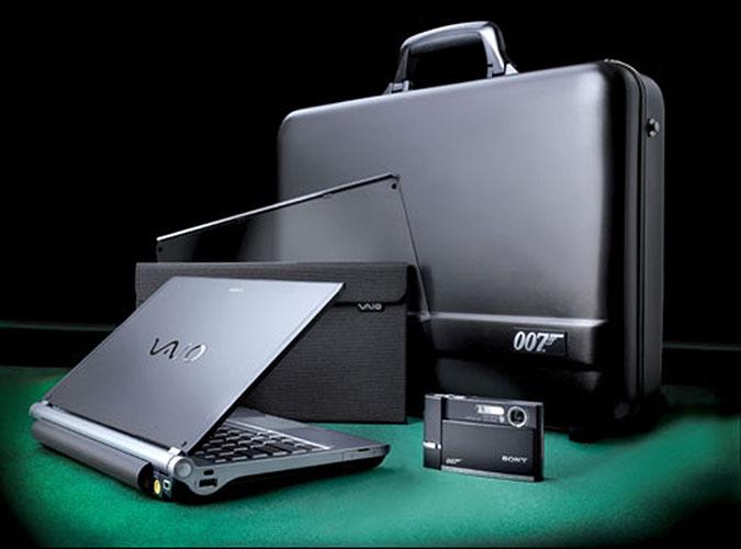 Sony z zapasów Agenta 007