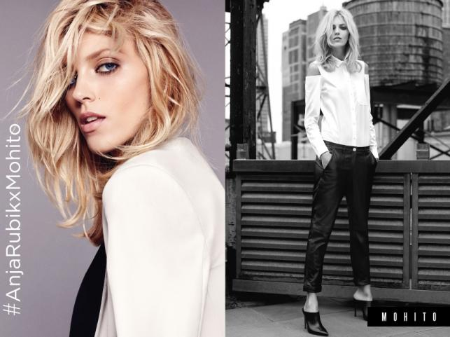 Anja Rubik Exlusive Collection dla Mohito