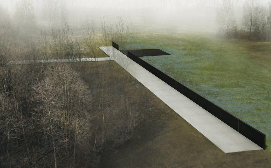 Projekt, który wygrał międzynarodowy konkurs na pomnik upamiętniający katastrofę z 10 kwietnia 2010 roku, który ma powstać pod Smoleńskiem