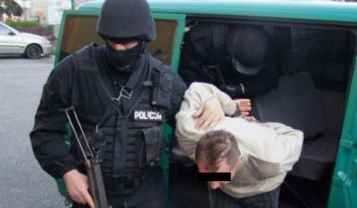 Tak ostra policja zwija złodziei samochodów