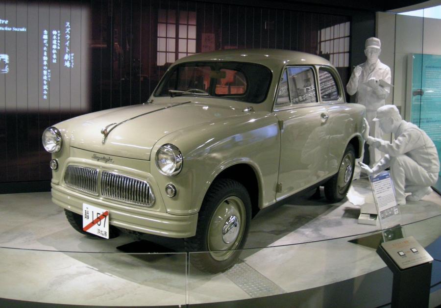 Pierwsze Suzuki ma ponad 50 lat