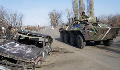 Ukraińskie wojsko w Donbasie