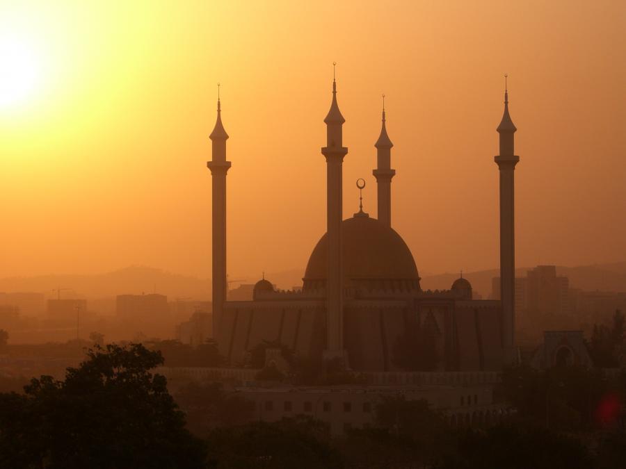 Meczet w Nigerii