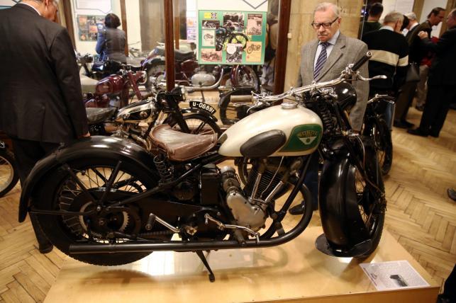 Polski motocykl Sokół 500 RS z 1937 r.