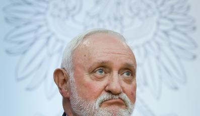 Sekretarz PKW Kazimierz Czaplicki