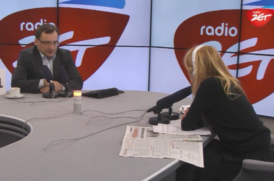 Zigniew Ziobro i Monika Olejnik