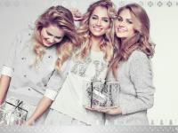 Kuszące śnieżynki: Miss Polonia 2010 z siostrami w kampanii Sabriny Pilewicz