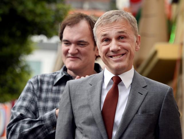 Christoph Waltz i Quentin Tarantino