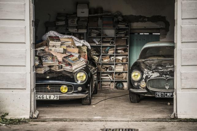 Kolekcja pięknych i drogich aut odnaleziona
