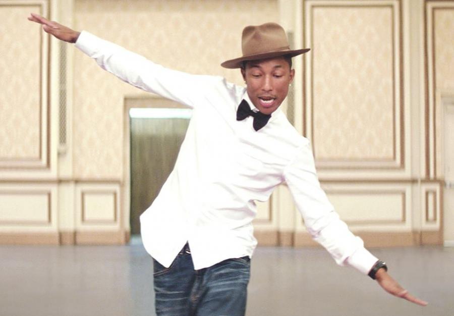 Pharrell Williams będzie świętował Dzień szczęścia