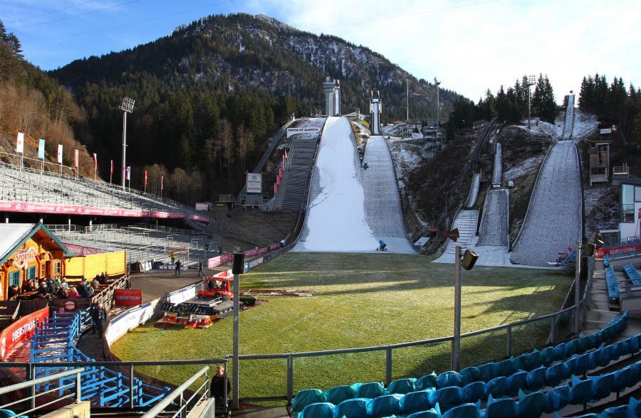 Skocznia w Oberstdorfie