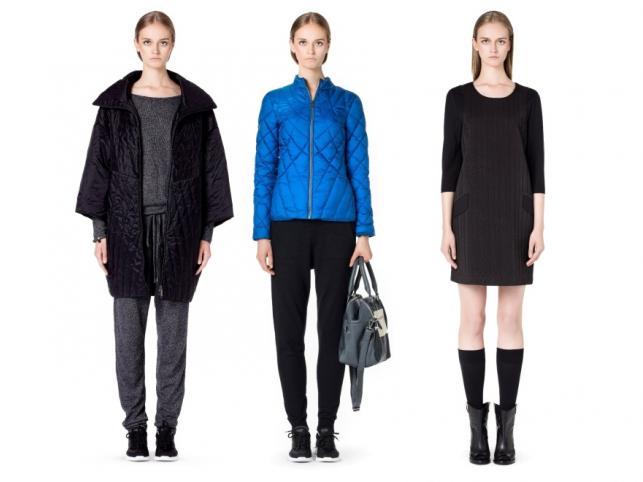 Pikowane ubrania z kolekcji Solar jesień/zima 2014/2015