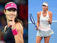 Brunetka kontra blondynka. Ivanovic czy Szarapowa, która piękniejsza? ZDJĘCIA