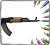 """Ruben L. Oppenheimer - rysunkowy komentarz po ataku na """"Charlie Hebdo"""""""