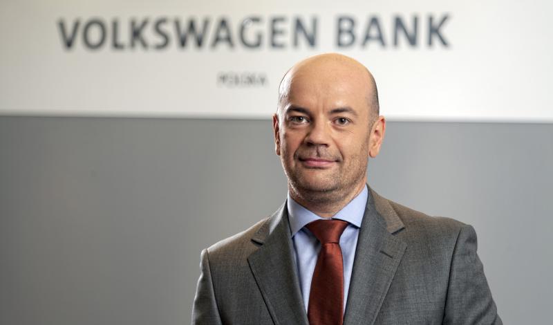 Mikołaj Woźniak, prezez Volkswagen Bank Polska