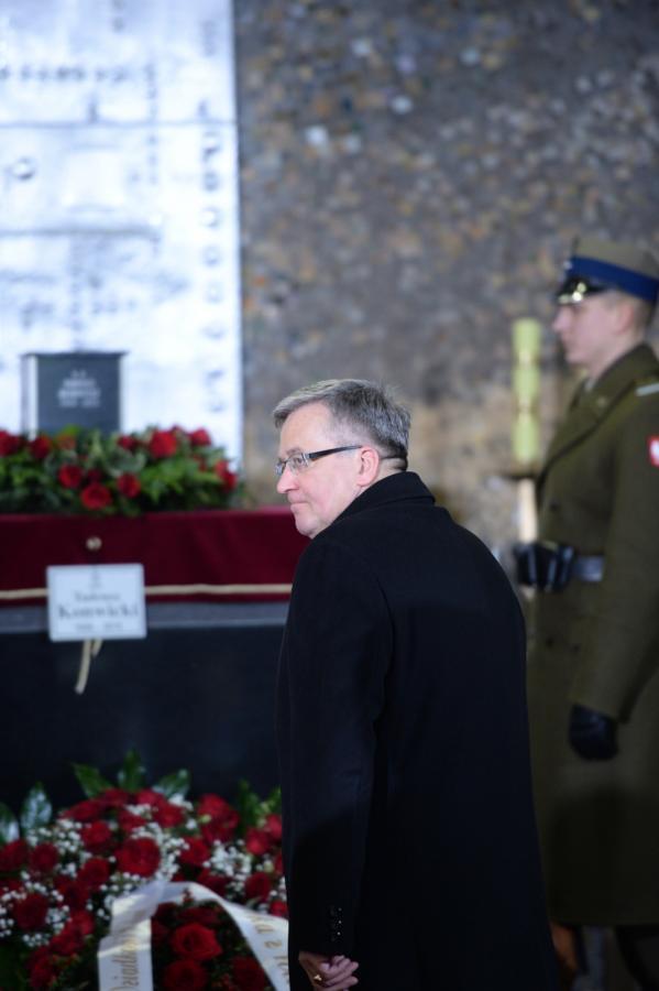 Pogrzeb Tadeusza Konwickiego na Powązkach Wojskowych