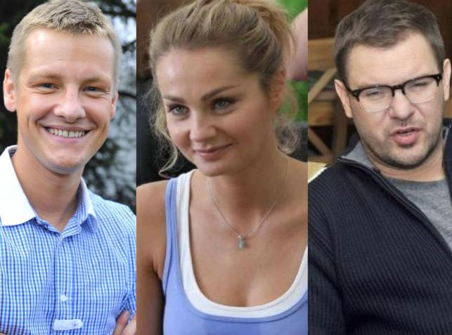 Marcin Mroczek, Małgorzata Socha, Tomasz Karolak