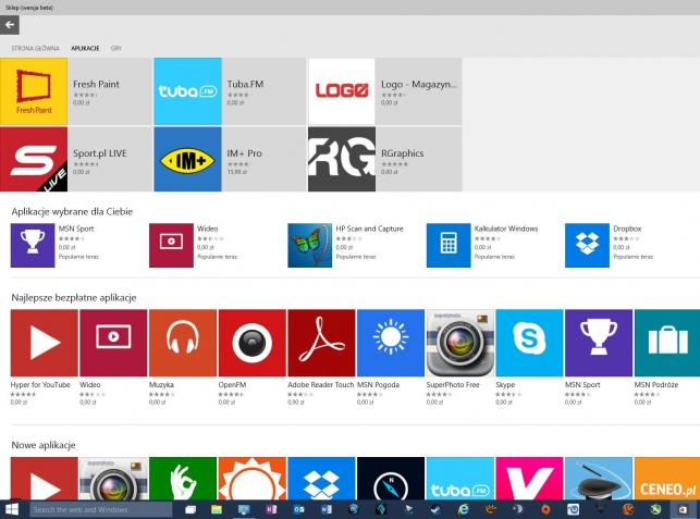 Sklep Windows 10