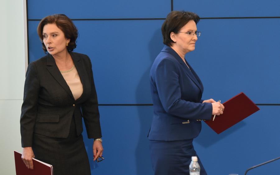 Premier Ewa Kopacz i Małgorzata Kidawa-Błońska