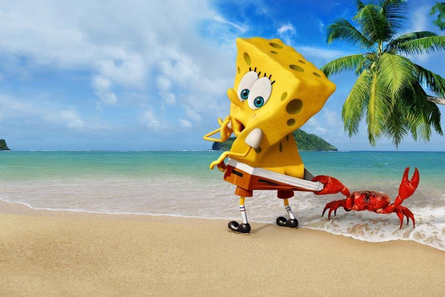 Spongebob zarobił w trzy dni 56 milionów dolarów