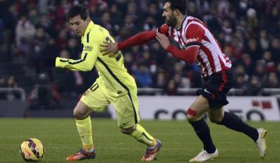 Lionel Messi (z lewej)