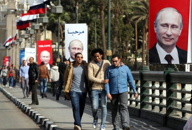 Kair przed przyjazdem Władimira Putina