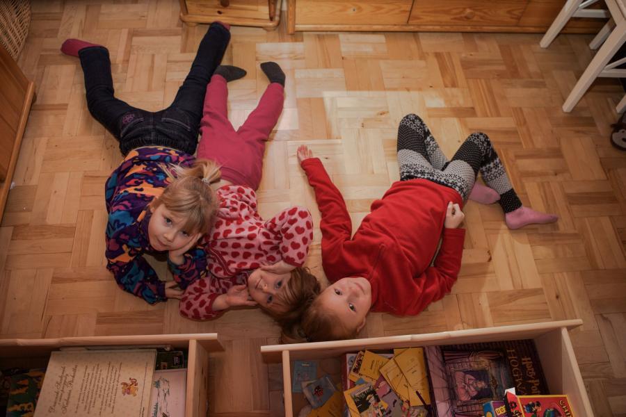 Maja, Hania i Nina
