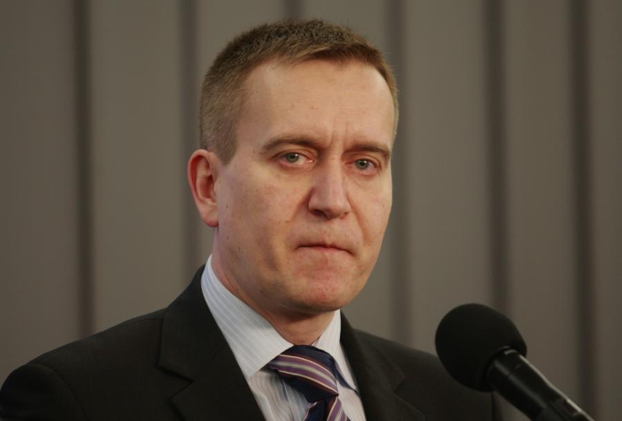 Poseł PO Robert Tyszkiewicz