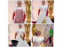 Do garów, a nie Oscarów. Lady Gaga na celowniku internautów [MEMY]