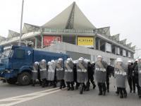 Trening czyni mistrza. Policja zwarta i gotowa na mecz Legii z Ajaksem