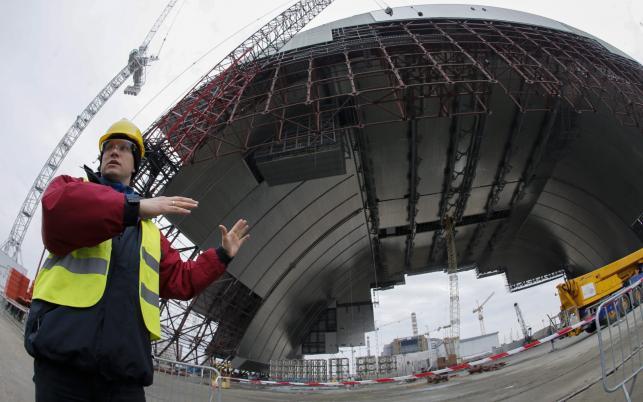 CZARNOBYL. Budowa nowej osłony na zniszczony reaktor atomowy