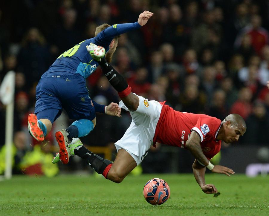 Ashley Young i Aaron Ramsey