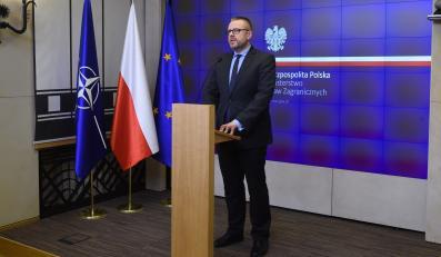 Rzecznik MSZ Marcin Wojciechowski