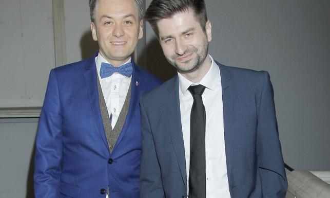 Robert Biedroń pochwalił się partnerem na gali Wiktorów [FOTO]